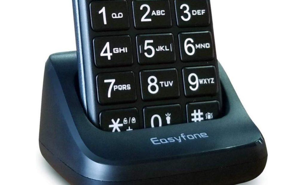 telefone sem fio com teclas grandes
