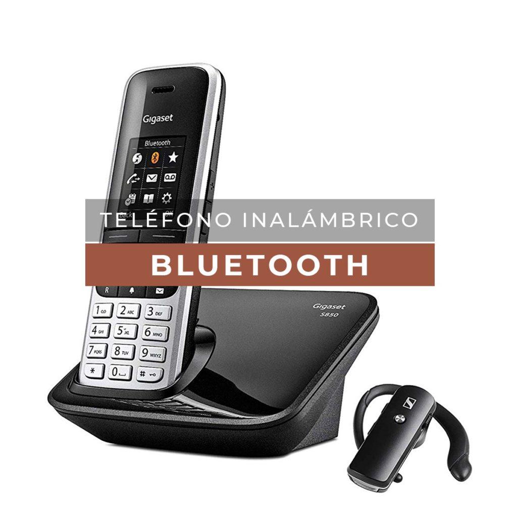 Teléfono inalámbrico con Bluetooth