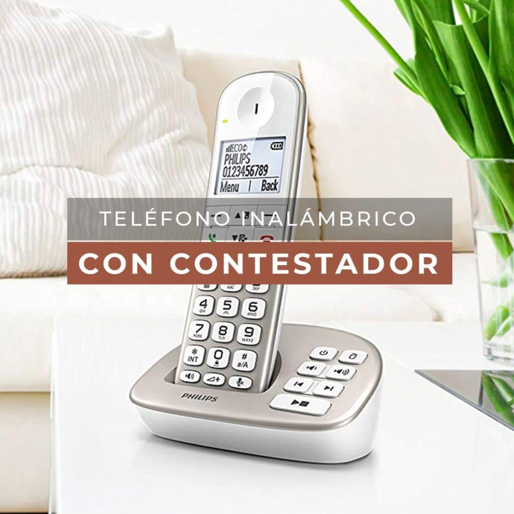 telefono inalambrico con contestador