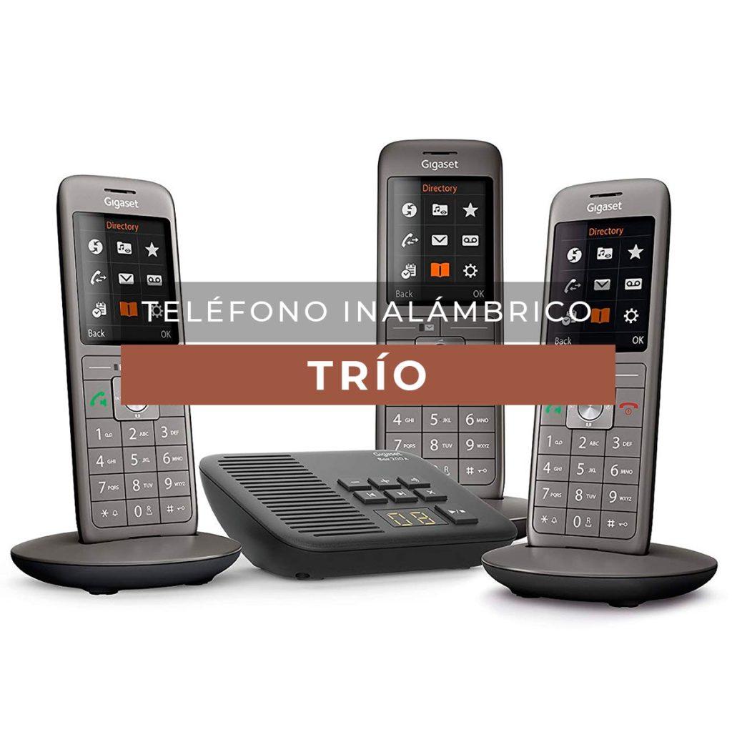 telefono inalambrico trio