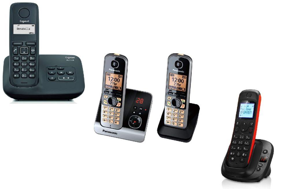 Teléfonos inalámbricos con contestador baratos