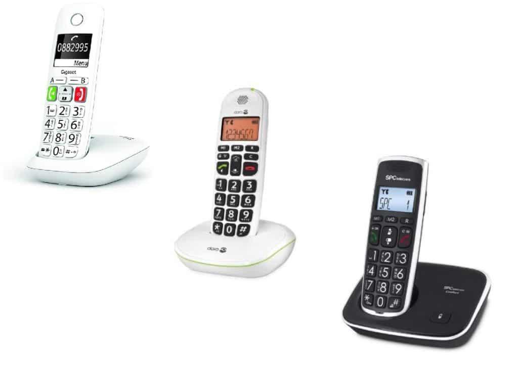 los mejores telefonos inalambricos para mayores